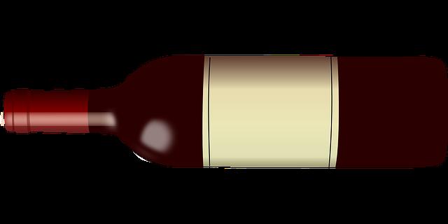 Wein mit eigenem Etikett