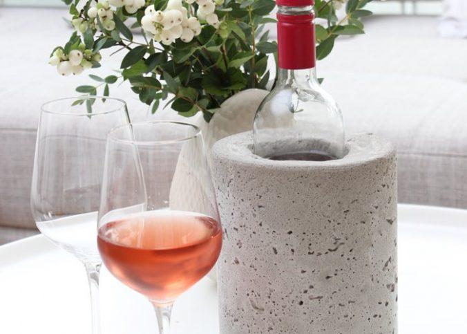 Weinkühler aus Beton